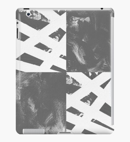 Which Way? - Black and White iPad Case/Skin