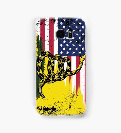 American Gadsden Flag Worn Samsung Galaxy Case/Skin