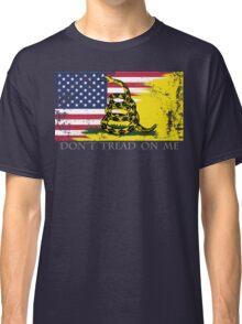 American Gadsden Flag Worn Classic T-Shirt