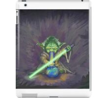Stoned Yoda - #StarWars #StarWarsTheForce #Cannabis  iPad Case/Skin