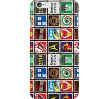 Nerd's Stamp Collection: Organized iPhone Case/Skin