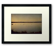 In These Peaceful Moments Framed Print