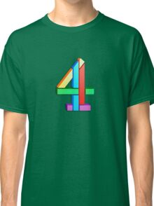 Channel 4 retro logo  Classic T-Shirt