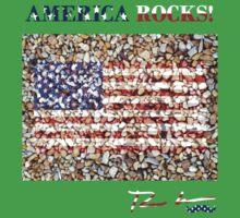 America Rocks! One Piece - Short Sleeve