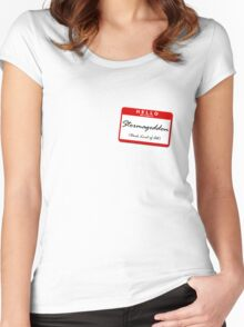 Stormageddon Women's Fitted Scoop T-Shirt