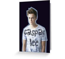 Caspar Lee Greeting Card
