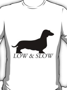 Low and Slow black T-Shirt