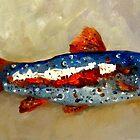 Yankee Doodle Trout by artbydelilah