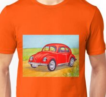 Red Volkswagen Unisex T-Shirt