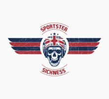 Sportster Sickness - Custom UK by Jay Williams