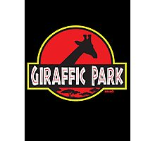 Giraffic Park Photographic Print