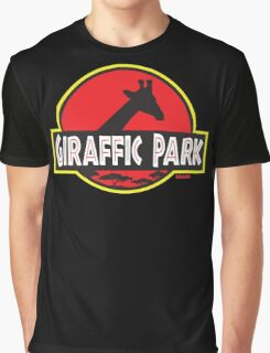 Giraffic Park Graphic T-Shirt