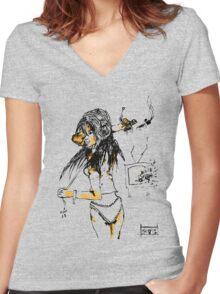 The Break-up Women's Fitted V-Neck T-Shirt