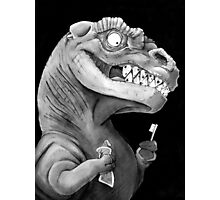 Nirvana Ink Dinosaur Illustration Photographic Print