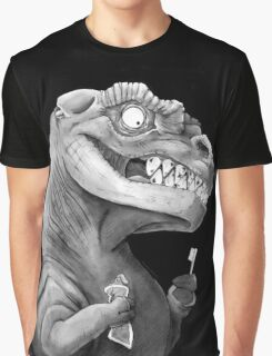 Nirvana Ink Dinosaur Illustration Graphic T-Shirt