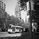 Trams in Melbourne by -aimslo-