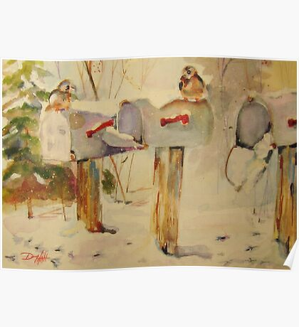 Winter Mail Poster