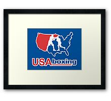 USA Boxing Framed Print