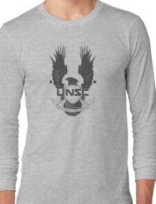 UNSC Logo Grey Long Sleeve T-Shirt