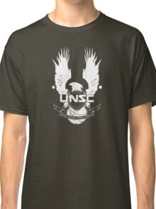 UNSC Logo White Classic T-Shirt