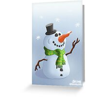 Snowman Christmas/Winter Card Greeting Card