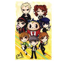Persona 4 Poster Photographic Print