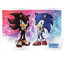 Sonic & Shadow Poster