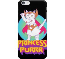 Princess of Purrr iPhone Case/Skin
