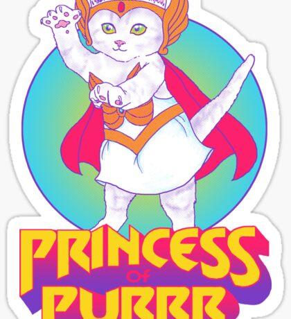 Princess of Purrr Sticker