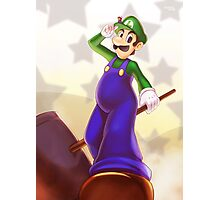 Dreamy Luigi Photographic Print