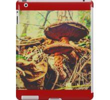 Funky Stripy Shroomies iPad Case/Skin