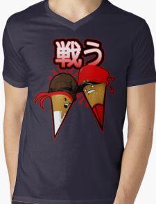 Super Sweet Fighter Mens V-Neck T-Shirt