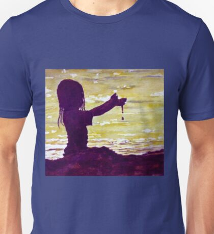 Playing in The Sand Unisex T-Shirt
