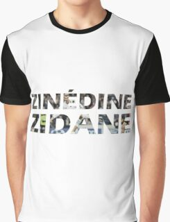 Zinedine Zidane Graphic T-Shirt