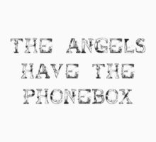The Angels Have the Phonebox (sticker) by Jayca