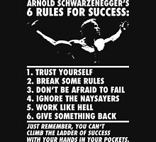 Arnold Schwarzenegger's Six Rules For Success T-Shirt