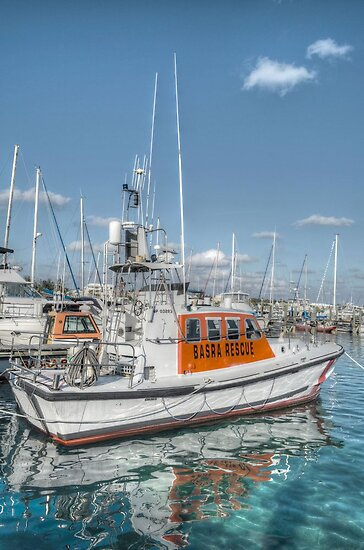 BASRA Rescue Boat in Nassau, The Bahamas by 242Digital