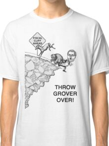 Throw Grover Over T-Shirt Classic T-Shirt