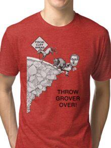 Throw Grover Over T-Shirt Tri-blend T-Shirt
