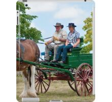 0974 Driving Miss Clancy iPad Case/Skin