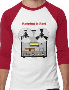 Keeping It Reel Men's Baseball ¾ T-Shirt
