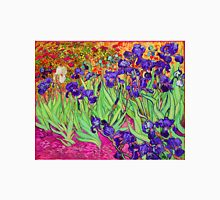 Vincent Van Gogh Purple Irises Unisex T-Shirt