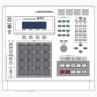 Akai MPC 60 Sampler by retrorebirth