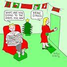 Christmas Stress by Pauline O'Brien