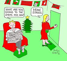 Christmas Stress by Pauline O'Brien