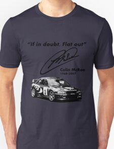 If in doubt, Flat out (with subaru) T-Shirt