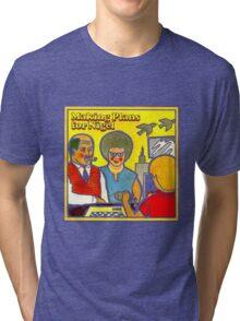 XTC Making Plans for Nigel Tri-blend T-Shirt