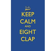 Keep Calm and Eight Clap Photographic Print