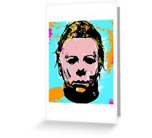 Michael Myers PoP Greeting Card