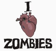 I love Zombies by bigredbubbles6